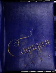 1952 Edition, Lansing Central High School - Cayugan Yearbook (Lansing, NY)