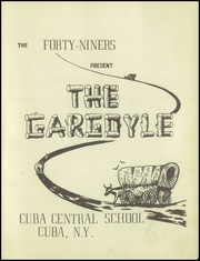 Page 5, 1949 Edition, Cuba Central School - Gargoyle Yearbook (Cuba, NY) online yearbook collection