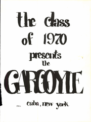 Page 5, 1970 Edition, Cuba Central School - Gargoyle Yearbook (Cuba, NY) online yearbook collection