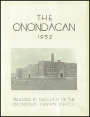 Page 7, 1952 Edition, Onondaga Central School - Onondagan Yearbook (Nedrow, NY) online yearbook collection