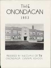 Page 5, 1953 Edition, Onondaga Central School - Onondagan Yearbook (Nedrow, NY) online yearbook collection
