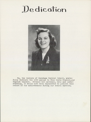 Page 7, 1953 Edition, Onondaga Central School - Onondagan Yearbook (Nedrow, NY) online yearbook collection