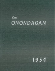 Onondaga Central School - Onondagan Yearbook (Nedrow, NY) online yearbook collection, 1954 Edition, Page 1