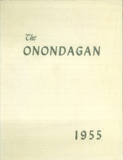 1955 Edition, Onondaga Central School - Onondagan Yearbook (Nedrow, NY)