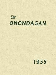 Onondaga Central School - Onondagan Yearbook (Nedrow, NY) online yearbook collection, 1956 Edition, Page 1
