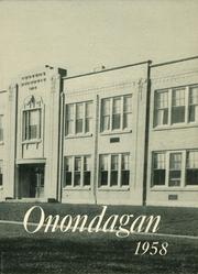 Page 1, 1958 Edition, Onondaga Central School - Onondagan Yearbook (Nedrow, NY) online yearbook collection
