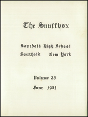 Page 5, 1951 Edition, Southold High School - Snuffbox Yearbook (Southold, NY) online yearbook collection