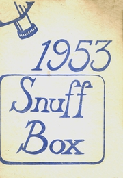 1953 Edition, Southold High School - Snuffbox Yearbook (Southold, NY)