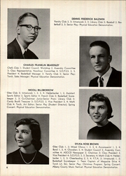Page 10, 1959 Edition, Clayton A Bouton High School - Torch Yearbook (Voorheesville, NY) online yearbook collection