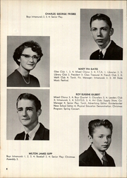 Page 12, 1959 Edition, Clayton A Bouton High School - Torch Yearbook (Voorheesville, NY) online yearbook collection