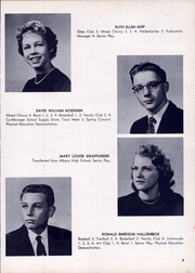 Page 13, 1959 Edition, Clayton A Bouton High School - Torch Yearbook (Voorheesville, NY) online yearbook collection