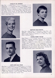 Page 15, 1959 Edition, Clayton A Bouton High School - Torch Yearbook (Voorheesville, NY) online yearbook collection