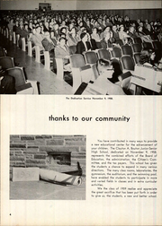 Page 8, 1959 Edition, Clayton A Bouton High School - Torch Yearbook (Voorheesville, NY) online yearbook collection