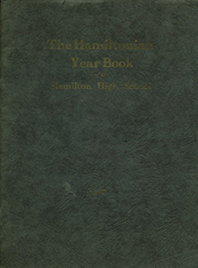 1927 Edition, Hamilton Central High School - Hamiltonian Yearbook (Hamilton, NY)