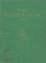 1935 Edition, Hamilton Central High School - Hamiltonian Yearbook (Hamilton, NY)