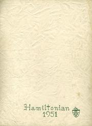 1951 Edition, Hamilton Central High School - Hamiltonian Yearbook (Hamilton, NY)