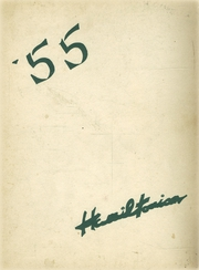 1955 Edition, Hamilton Central High School - Hamiltonian Yearbook (Hamilton, NY)