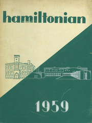 1959 Edition, Hamilton Central High School - Hamiltonian Yearbook (Hamilton, NY)