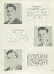 Page 13, 1949 Edition, Deposit Central High School - Acorns Yearbook (Deposit, NY) online yearbook collection