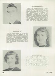 Page 16, 1949 Edition, Deposit Central High School - Acorns Yearbook (Deposit, NY) online yearbook collection