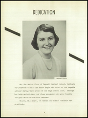 Page 6, 1953 Edition, Deposit Central High School - Acorns Yearbook (Deposit, NY) online yearbook collection