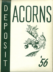 1956 Edition, Deposit Central High School - Acorns Yearbook (Deposit, NY)