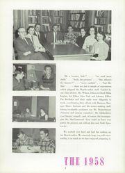 Page 8, 1958 Edition, Greenport High School - Beachcomber Yearbook (Greenport, NY) online yearbook collection