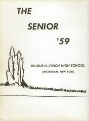 Page 6, 1959 Edition, Lynch High School - Senior Yearbook (Amsterdam, NY) online yearbook collection