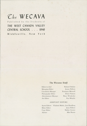 Page 3, 1946 Edition, West Canada Valley High School - Wecava Yearbook (Newport, NY) online yearbook collection