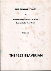 Page 5, 1952 Edition, Beaver River Central High School - Beaverian Yearbook (Beaver Falls, NY) online yearbook collection