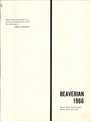 Page 5, 1966 Edition, Beaver River Central High School - Beaverian Yearbook (Beaver Falls, NY) online yearbook collection