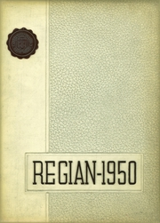 1950 Edition, Regis High School - Regian Yearbook (New York, NY)