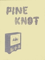 Pine Valley Central High School - Pine Knot Yearbook (South Dayton, NY) online yearbook collection, 1952 Edition, Page 1