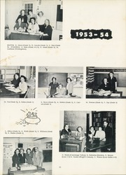 Page 15, 1954 Edition, Pine Valley Central High School - Pine Knot Yearbook (South Dayton, NY) online yearbook collection