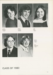 Page 17, 1980 Edition, Pine Valley Central High School - Pine Knot Yearbook (South Dayton, NY) online yearbook collection