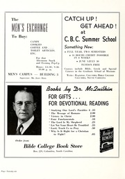 Page 80, 1948 Edition, Columbia Bible College - Finial Yearbook (Columbia, SC) online yearbook collection
