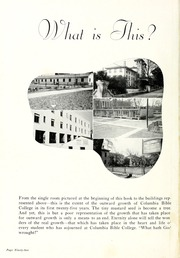 Page 96, 1948 Edition, Columbia Bible College - Finial Yearbook (Columbia, SC) online yearbook collection