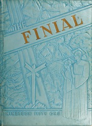 Columbia Bible College - Finial Yearbook (Columbia, SC) online yearbook collection, 1951 Edition, Page 1