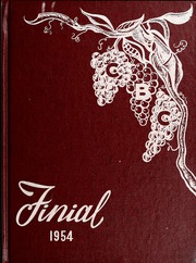 Columbia Bible College - Finial Yearbook (Columbia, SC) online yearbook collection, 1954 Edition, Page 1