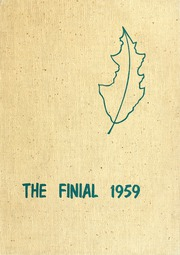 Columbia Bible College - Finial Yearbook (Columbia, SC) online yearbook collection, 1959 Edition, Page 1