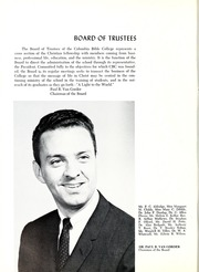 Page 14, 1966 Edition, Columbia Bible College - Finial Yearbook (Columbia, SC) online yearbook collection
