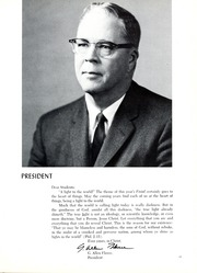 Page 15, 1966 Edition, Columbia Bible College - Finial Yearbook (Columbia, SC) online yearbook collection