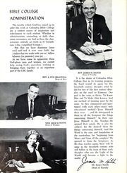 Page 16, 1966 Edition, Columbia Bible College - Finial Yearbook (Columbia, SC) online yearbook collection