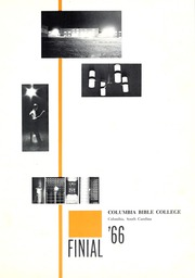 Page 5, 1966 Edition, Columbia Bible College - Finial Yearbook (Columbia, SC) online yearbook collection
