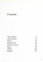 Page 7, 1970 Edition, Columbia Bible College - Finial Yearbook (Columbia, SC) online yearbook collection
