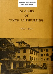 Page 2, 1973 Edition, Columbia Bible College - Finial Yearbook (Columbia, SC) online yearbook collection