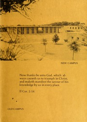 Page 3, 1973 Edition, Columbia Bible College - Finial Yearbook (Columbia, SC) online yearbook collection