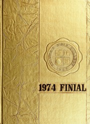 1974 Edition, Columbia Bible College - Finial Yearbook (Columbia, SC)
