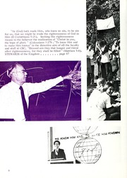 Page 12, 1974 Edition, Columbia Bible College - Finial Yearbook (Columbia, SC) online yearbook collection