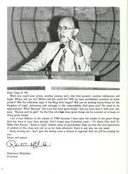 Page 12, 1986 Edition, Columbia Bible College - Finial Yearbook (Columbia, SC) online yearbook collection